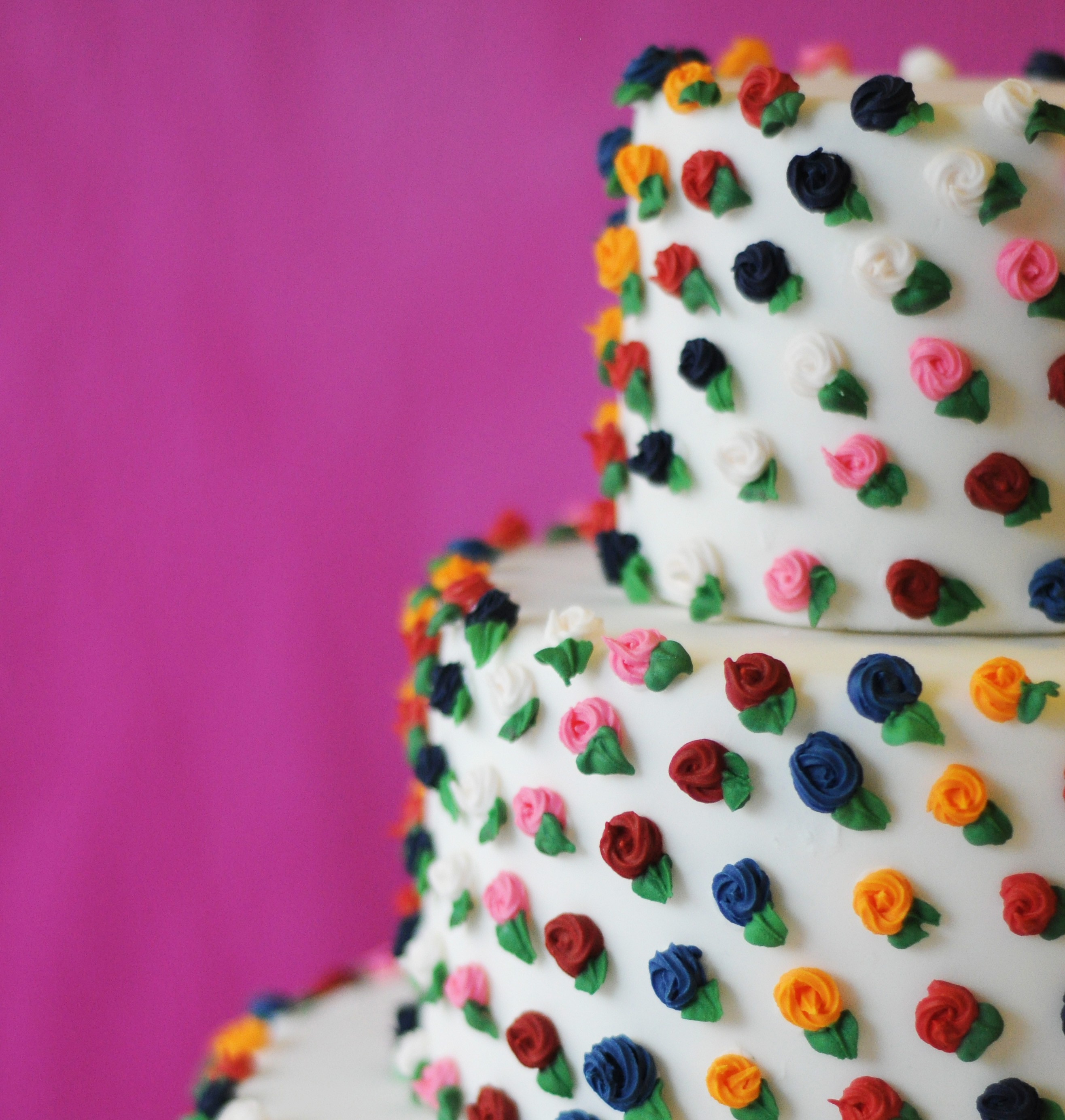 colourful wedding cake Archives - Bee\'s Bakery