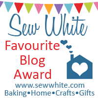 Sew White favourite blog award